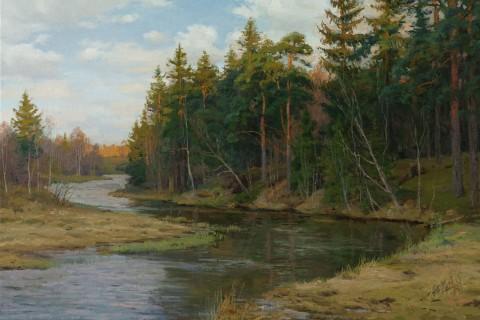 На изгибе реки